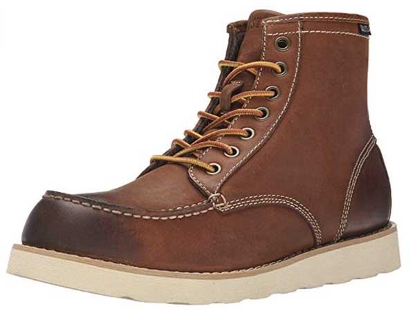 eastland peanut moc toe boot