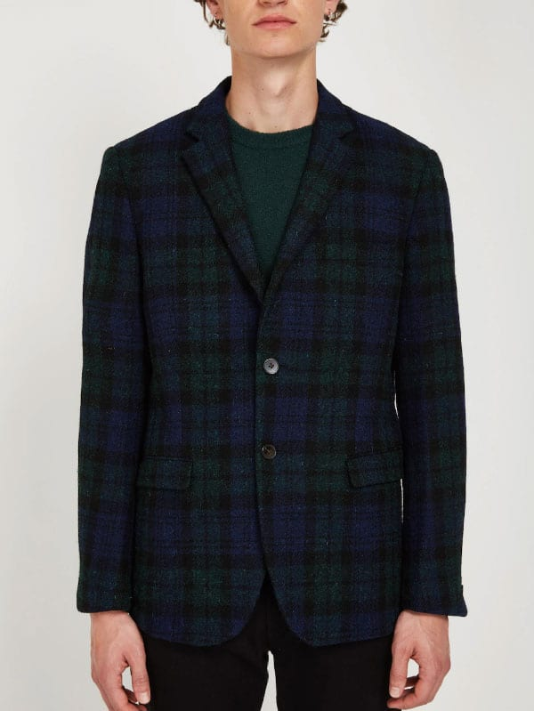 frank and oak tweed blazer