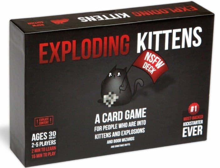 Image of Exploding Kittens: NSFW Edition (Explicit Content - ADULTS ONLY!)