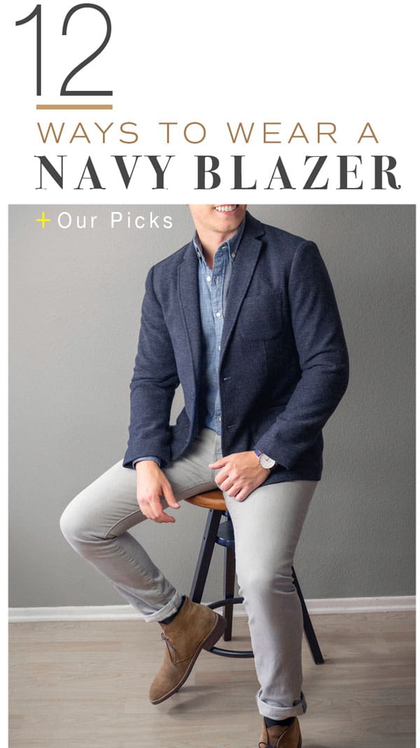 c2be27fa1fb How to Style a Navy Blazer + Our Picks