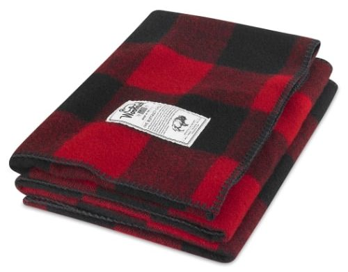 "Image of Woolrich Rough Rider Wool Blanket (50""x60"")"