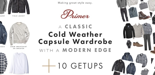 A Classic Cold Weather Capsule Wardrobe With A Modern Edge + 10 Getups!