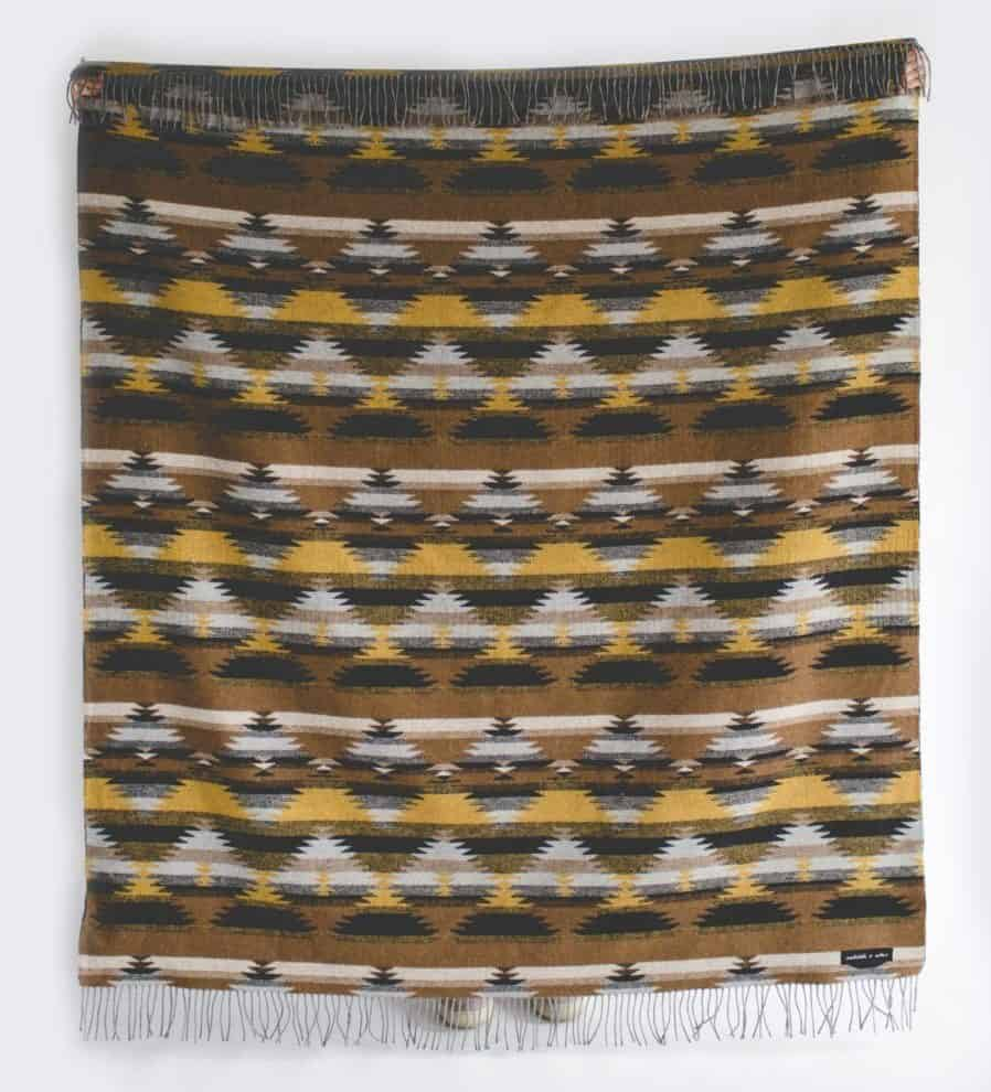 Image of sackcloth and ashes TRIBAL Gold blanket