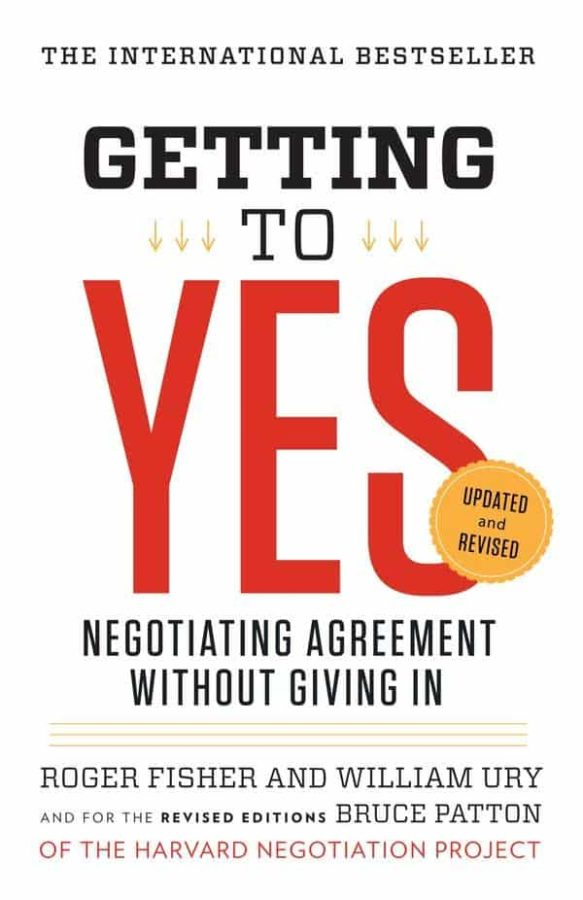 Image of Getting to Yes: Negotiating Agreement Without Giving In Paperback – May 3, 2011