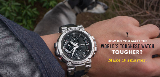 How Do You Make The World's Toughest Watch Tougher? Make It Smarter.