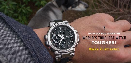 How Do You Make The World's Toughest Watch Tougher? Make It Smarter.