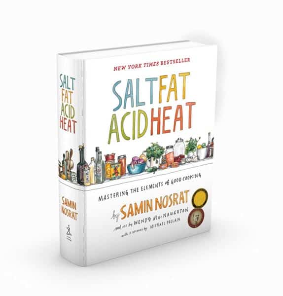 Image of Salt, Fat, Acid, Heat: Mastering the Elements of Good Cooking Hardcover – April 25, 2017