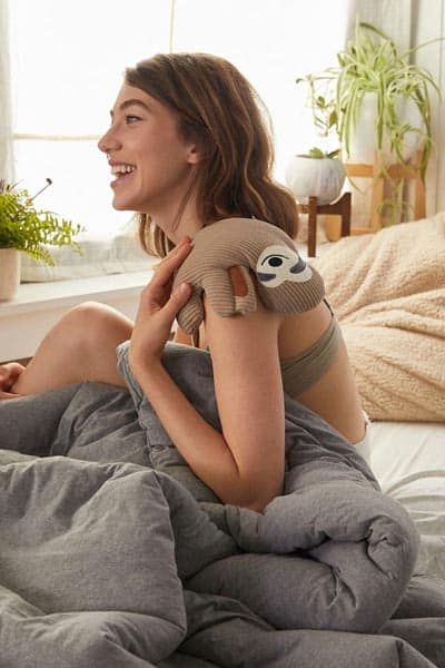 Image of Huggable Sloth Cooling + Heating Pad