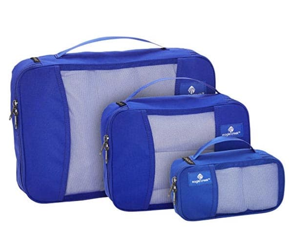 Image of Eagle Creek Travel Gear Luggage, Blue Sea 3 Pack