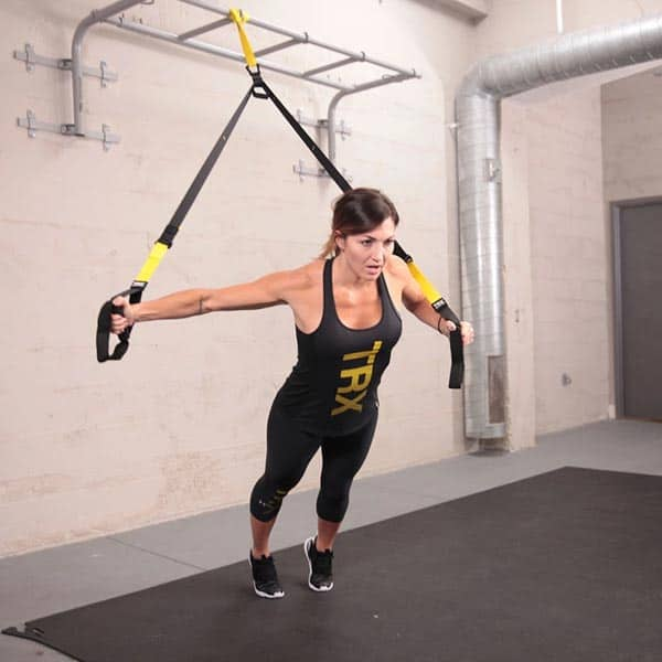 Image of TRX All In One Suspension Training System: Full Body Workouts for Home, Travel, and Outdoors | Includes Indoor & Outdoor Anchors, Workout Guide and Video Downloads