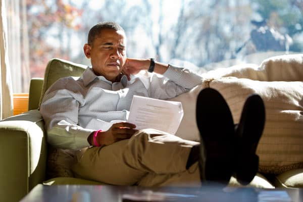 barack obama morning routine