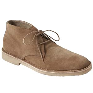 Image of Brendt Suede Crepe-Sole Chukka Boot