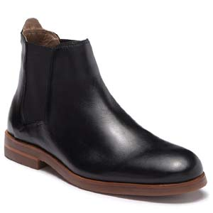 Image of Hudson London Tonti Leather Chelsea Boot