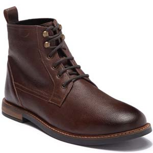 Image of Ben Sherman Brent Plain Toe Leather Boot