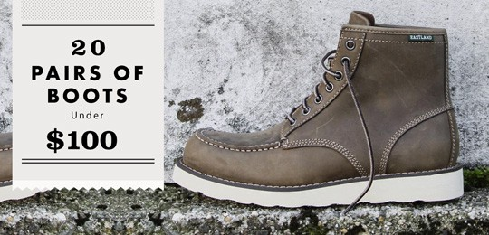 20 Pairs of Boots Under $100