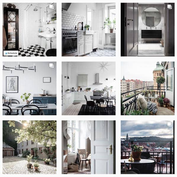 9 photos of homes from Instagram