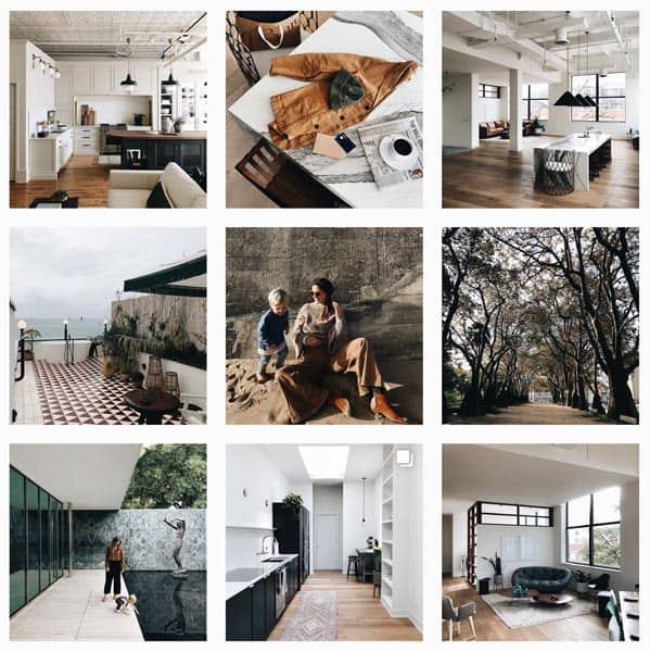 Instagram and Home thumbnails