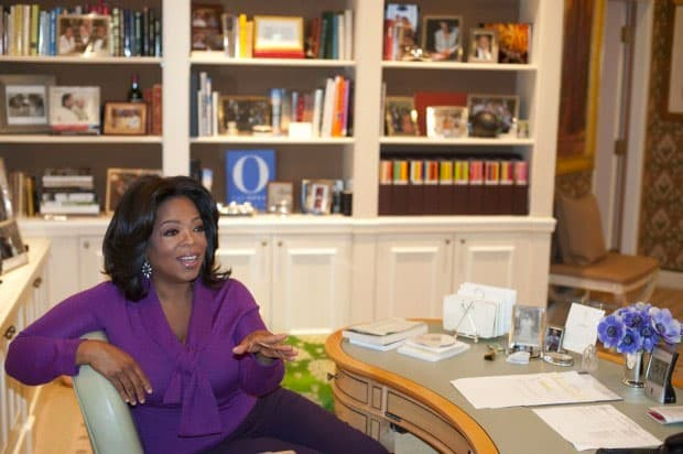 oprah morning routine