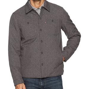 Image of Levi's Men's Soft Shell Two Pocket Shirt Jacket