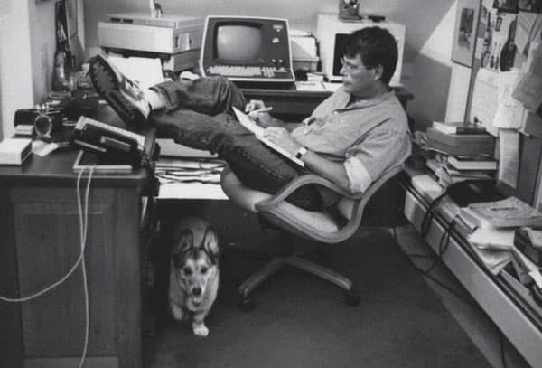stephen king morning routine