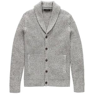 Image of SUPIMA® Cotton Shawl-Collar Cardigan Sweater