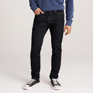 Image of ATHLETIC SKINNY JEANS