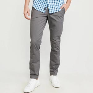 Image of ATHLETIC SKINNY CHINO PANTS