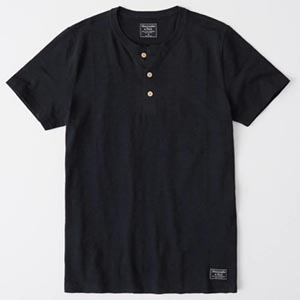 Image of SHORT-SLEEVE HENLEY