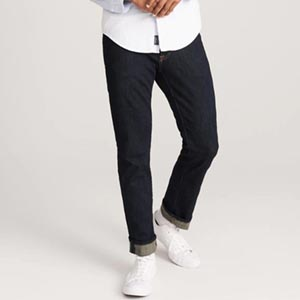 Image of straight jeans