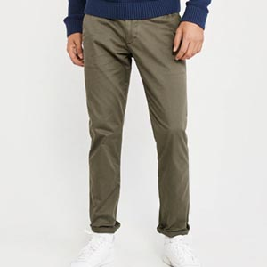 Image of skinny chino pant