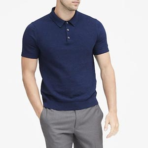 Image of SUPIMA® Cotton Sweater Polo
