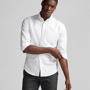 Image of Slim Soft Wash Oxford Shirt