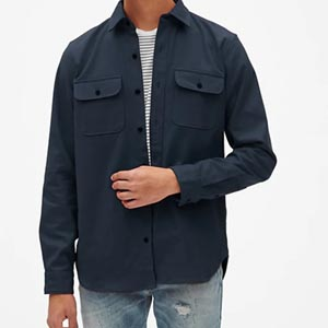 Image of Moleskin Shirt Jacket