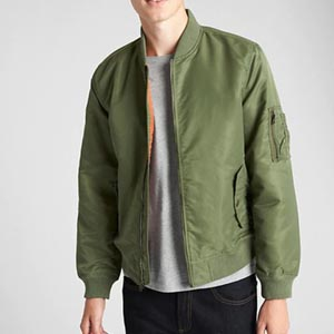 Image of Vintage Bomber Jacket