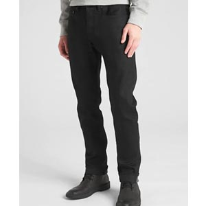Image of Selvedge Slim Jeans with GapFlex