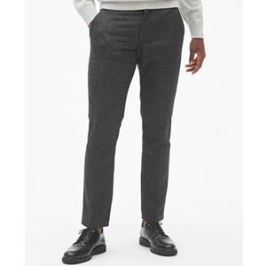 Image of Wool Pants in Slim Fit with GapFlex