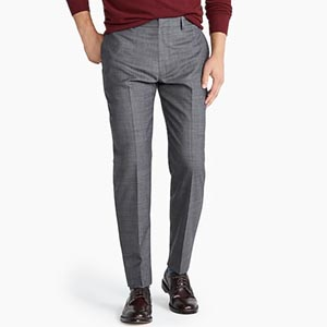 Image of Ludlow Classic-fit pant in stretch four-season wool