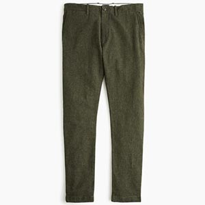 Image of 484 Slim-fit pant in stretch brushed twill