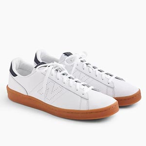 Image of New Balance® for J.Crew 791 leather sneakers