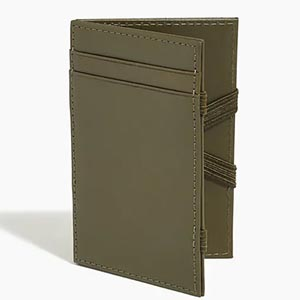 Image of jcrew factory leather wallet