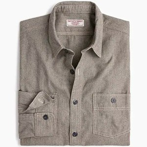 Image of Wallace & Barnes workshirt in brushed cotton