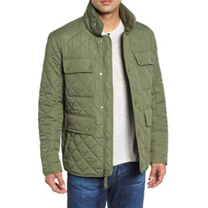 Image of Canal Quilted Barn Jacket
