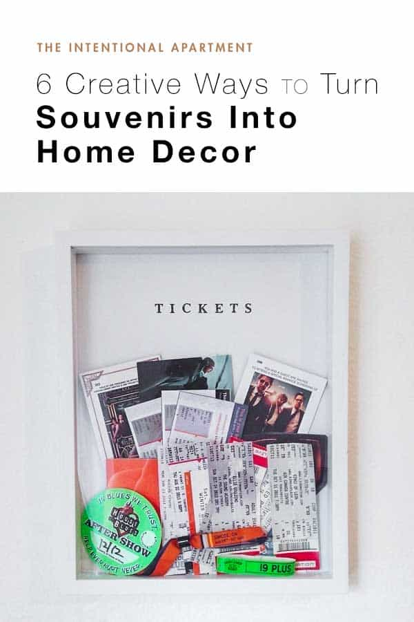 6 Creative Ways to Turn Souvenirs Into Home Decor