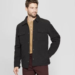 Image of Men's Quilted Shirt Jacket - Goodfellow & Co™