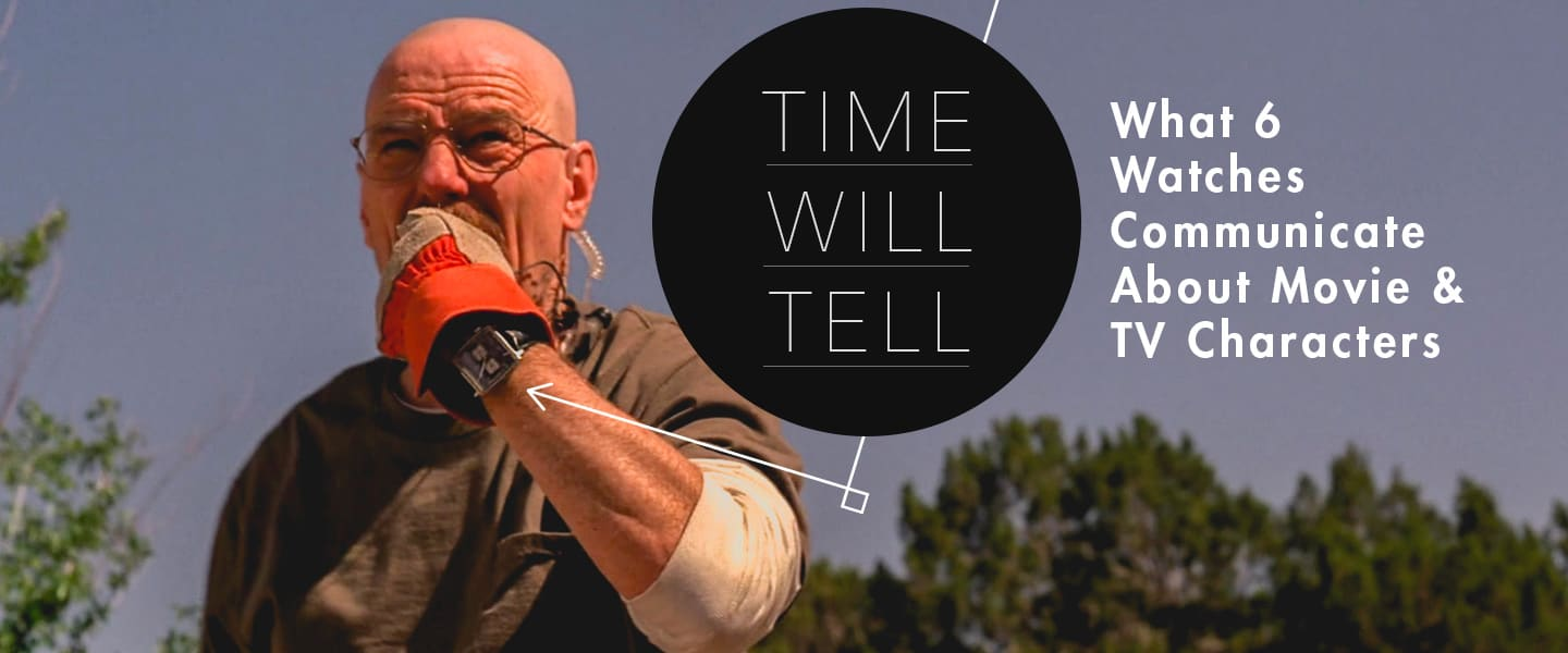 Time Will Tell: What 6 Watches Communicate About Movie and TV Characters