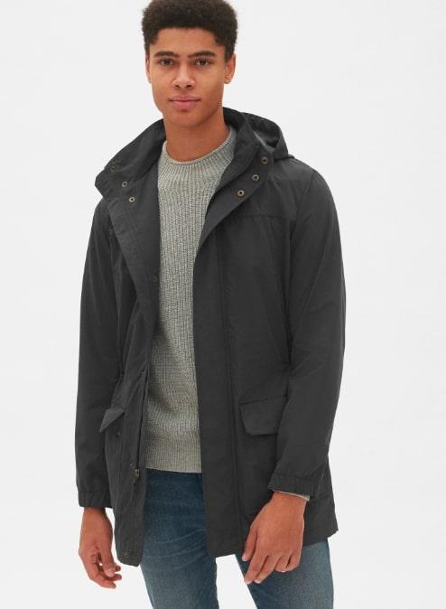 Image of Gap city parka jacket