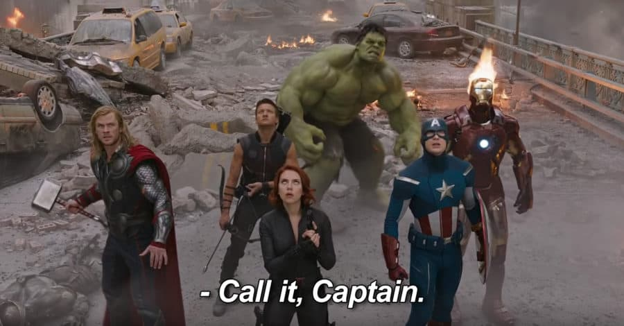 Image of the Avengers