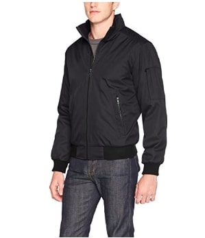 Image of Calvin Klein Men's Classic Rip Stop Bomber Jacket