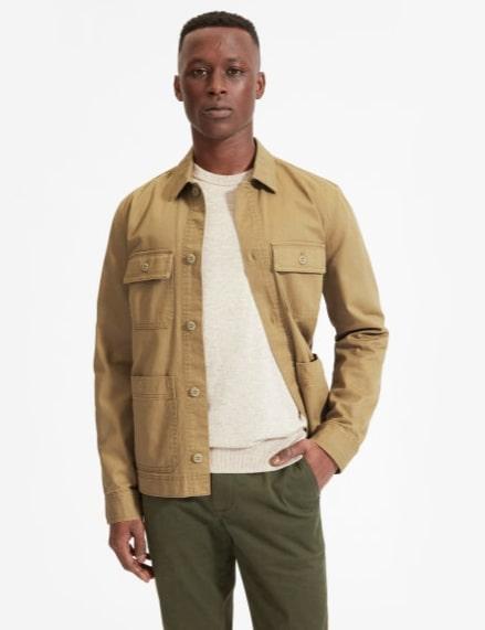 Image of Everlane chore jacket
