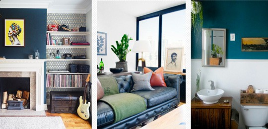Beyond Black And Charcoal: The Modern Man's Guide To Decorating With Color And Texture